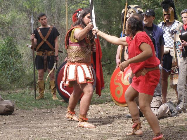 φωτ. απο γυρίσματα του ντοκιμαντέρ του BBC2 :'Who were the Greeks'