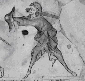 Εικόνα 4. Δεύτερη θέση φύλαξης. Από το MS I.33 σελ.1.Από το αρχείο φωτογραφείων του κ. Timothy Dowson.