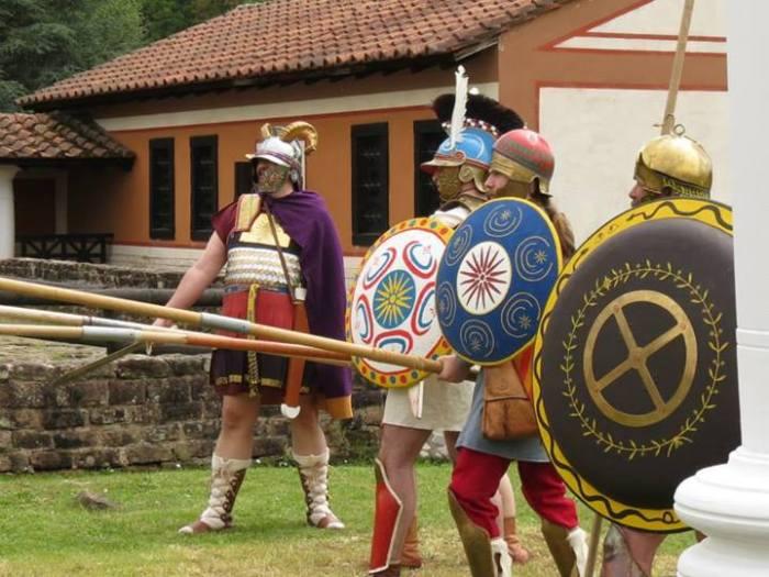 Macedonian phalanx.Hetairoi - A Living History Project
