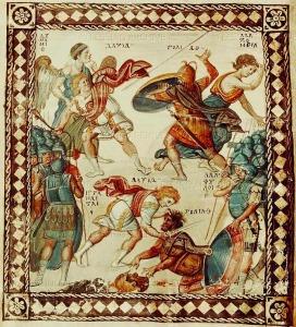 Scholae Palatinae : Byzantine Hoplomachia / Βυζαντινή οπλομαχία
