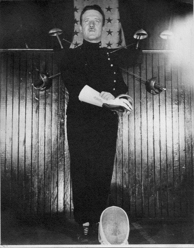 Maître d'Armes Marcel Cabijos