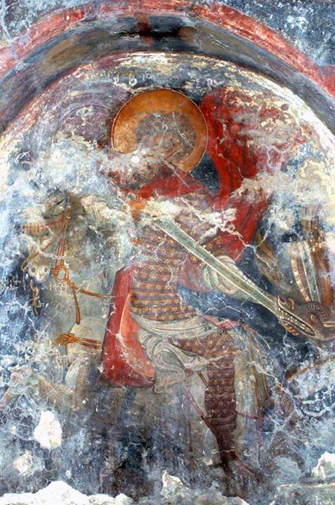 αγιος Γεώργιος σκοτώνει τον δράκο